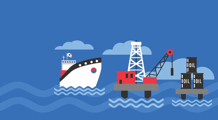 석유 수출하는 비산유국, 한국