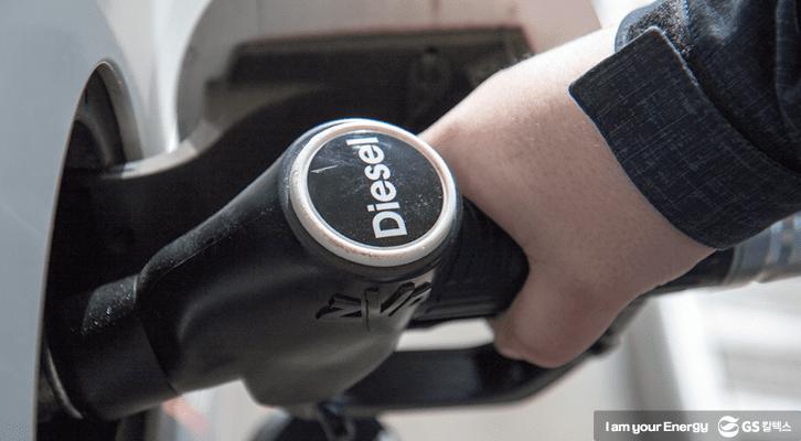 디젤자동차는 높은 연비로 인기를 끌고 있다.
