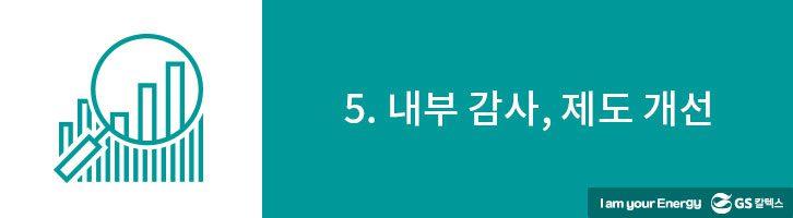 5. 내부 감사, 제도 개선